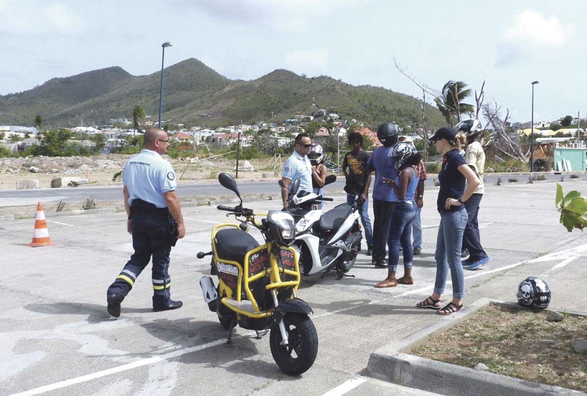 Sensibilisation à la conduite des scooters