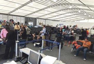 Interpellations à l'aéroport Princess Juliana