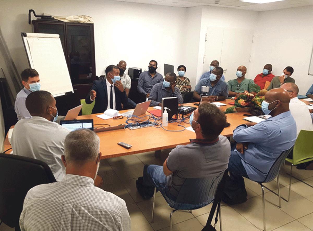 Recensement des entreprises de génie civil de Saint-Martin : La SAS Tintamarre nous ouvre les portes de sa réunion