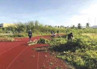 Initiative : La piste de Sandy Ground à nouveau praticable
