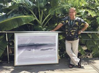 Francis Eck dévoile ses nouvelles peintures