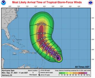 Météo : La saison cyclonique bat son plein