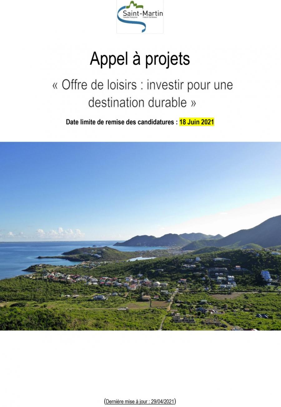 Appel à projets «Offre de loisirs :  investir pour une destination durable» : date limite de dépôt des candidatures reportée au 31 décembre 2021