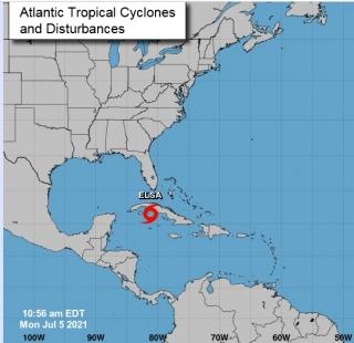 Elsa lance la saison cyclonique dans les Antilles