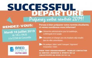 Bacheliers, venez participer au Successfull Departure, le mardi 16 juillet