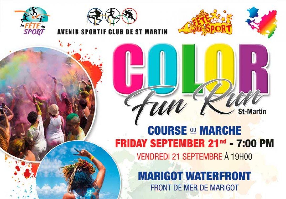 La Color Run débarque à Saint-Martin!