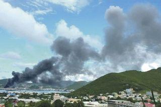 décharge de Sint-Maarten : Affaire de santé publique