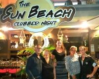 Au Sun Beach Clubber Night : Une nouvelle bonne table sur la place du Village …