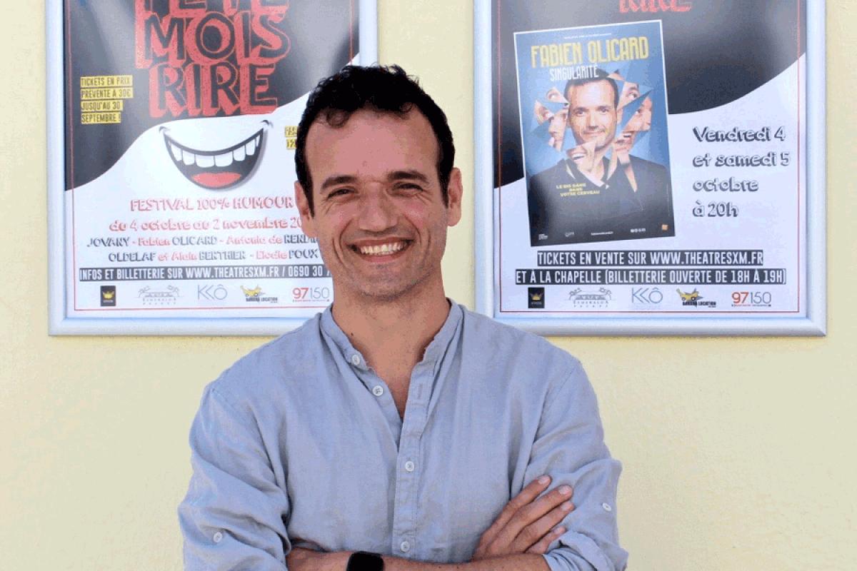 Fabien Olicard au théâtre de la Chapelle ce soir