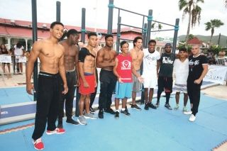 Street workout : La Guadeloupe rafle  les trois premières places