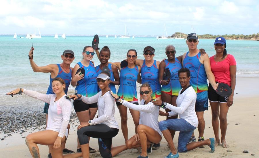 Première séance de « Jump in the Water » au profit des membres de l'association Intergeneration Runners.