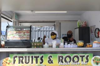 La note optimiste de la semaine : Anne-Marie et son Fruits & Roots Snack