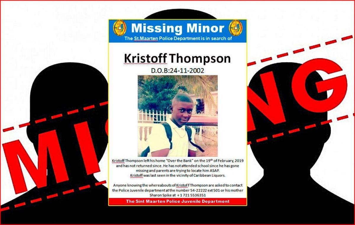Un mineur est porté disparu depuis plus de quinze jours