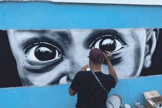 Street Art : Quand Espa sème la couleur sur le territoire