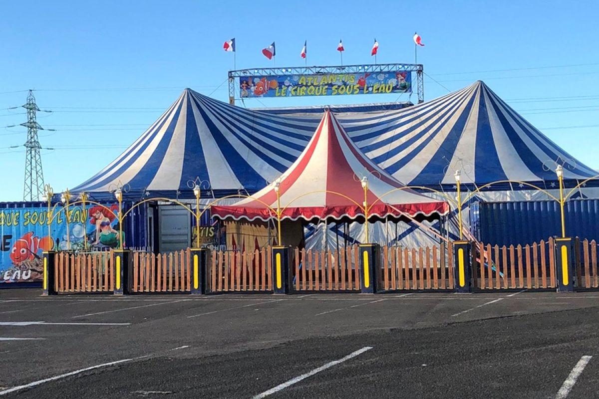 Dans les coulisses de l'Atlantis Circus