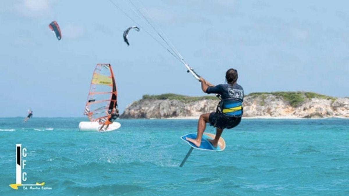 Orient Bay reçoit les premiers Championnats inter-caraïbes de Kitefoil
