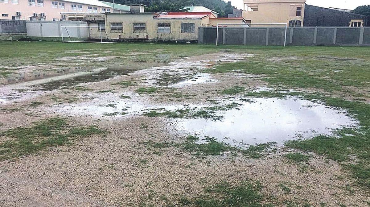 Football : une météo orageuse fait annuler les rencontres