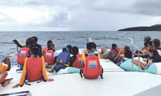 Le Sint Maarten Yacht Club, mécène des enfants