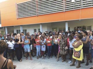 Encore de nombreux parents mobilisés pour la réunion qui se passait dimanche en fin de journée.