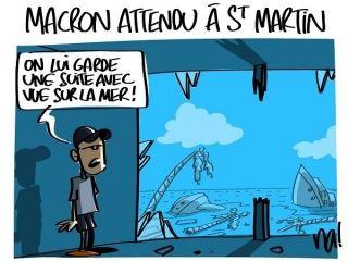 Le Président Macron sera à Saint-Martin les 29 et 30 septembre