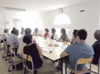 Première réunion du comité de pilotage pour le suivi des travaux dans les écoles
