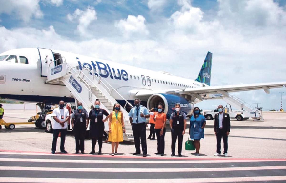 Reprise des vols avec les Etats-Unis : 350 passagers arrivés le samedi 1er août