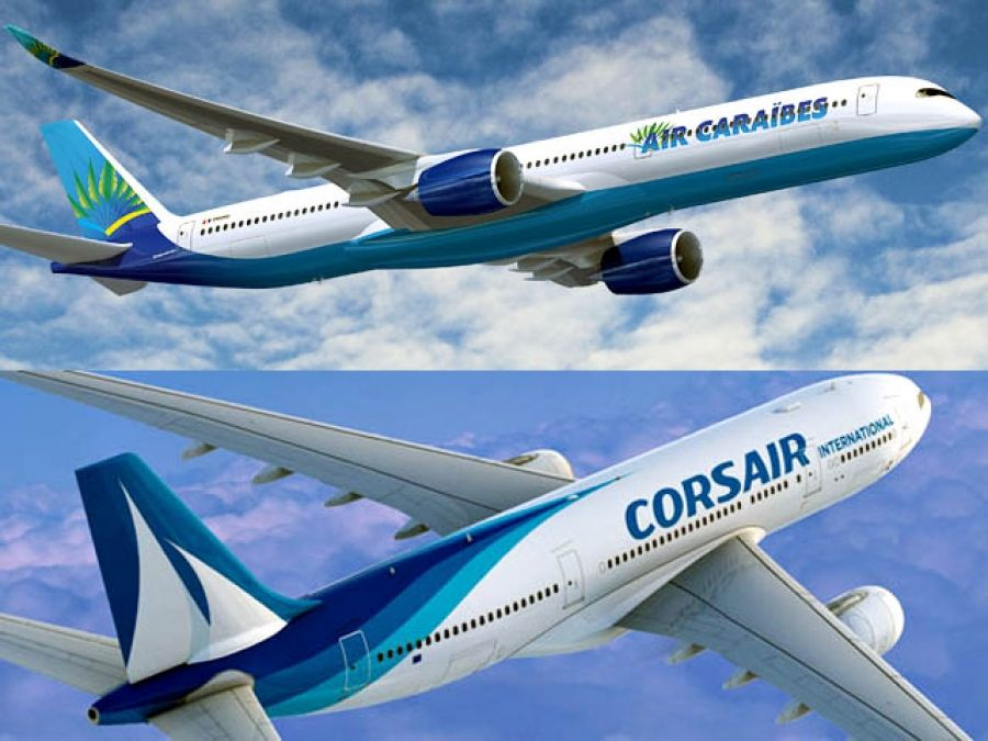 Fin du code-share entre Corsair et Air Caraïbes