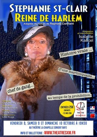 Théâtre : Ouverture de la saison avec « Stéphanie St-Clair, Reine de Harlem »