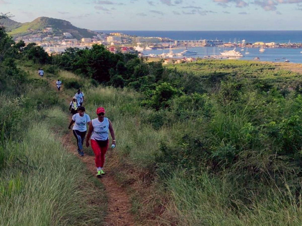 Une randonnée sous le signe  de la santé et de la protection de l'environnement