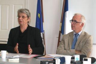 Le COTAF, un organisme codirigé par la Préfète déléguée de Saint-Martin,, Anne Laubiès  et le Procureur de Basse-Terre,  Samuel Finielz.