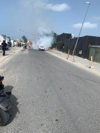Accident à Sandy Ground : la tension est palpable