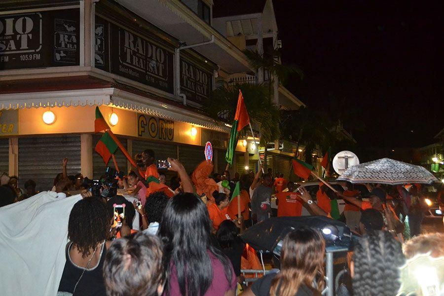 Election territoriale: La Team Gibbs largement en tête de ce premier tour