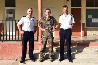 Les trois armées, Terre, Air et Marine Nationale, recrutent aussi à Saint-Martin