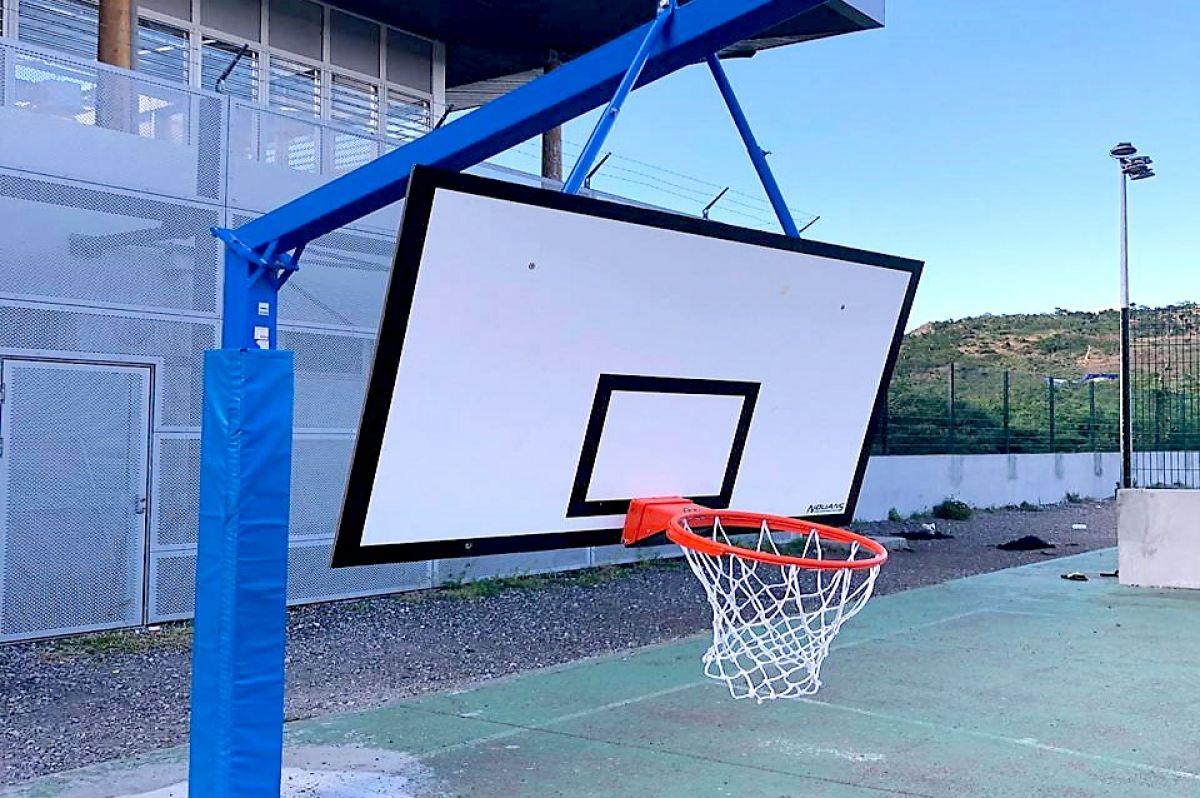 Le plateau sportif de Concordia vandalisé