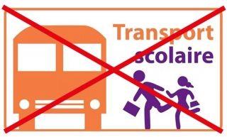 Pas de transports scolaires à la rentrée des vacances de Carnaval