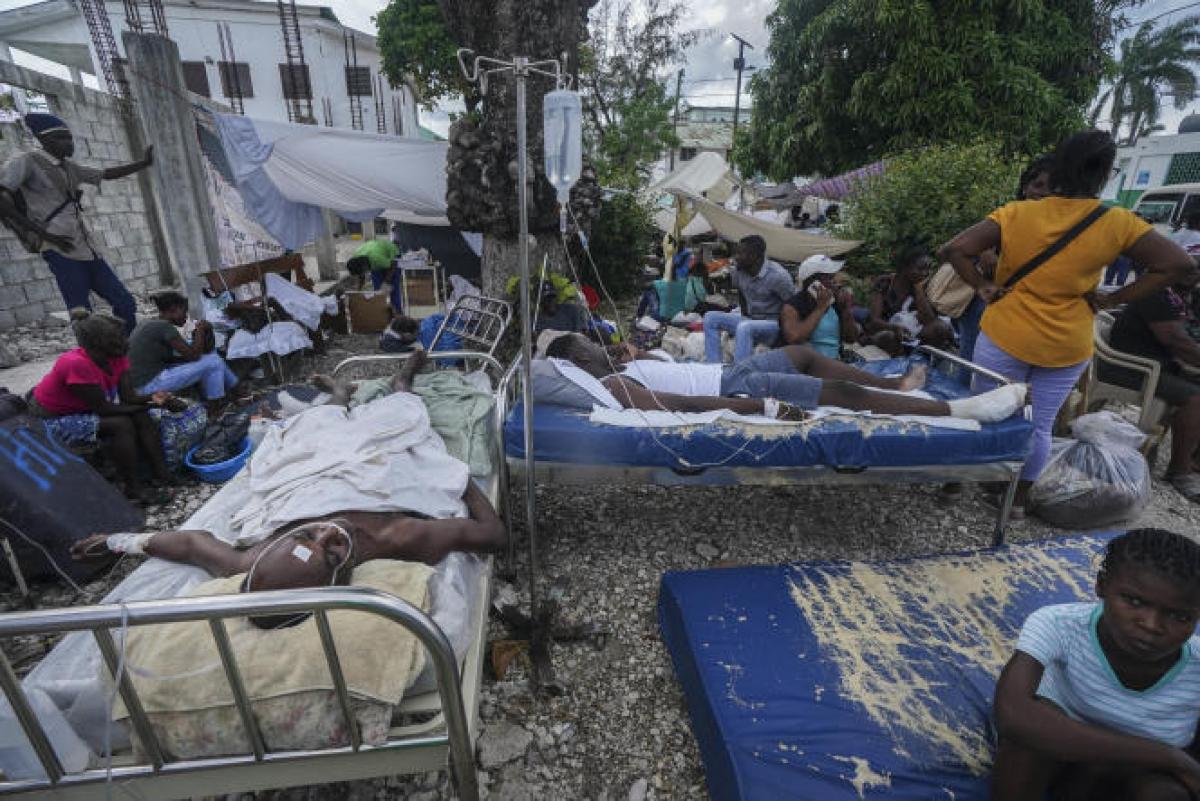 Séisme à Haïti : le bilan humain s'alourdit