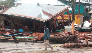 Après le passage de l'ouragan Iota, l'Amérique centrale dévastée