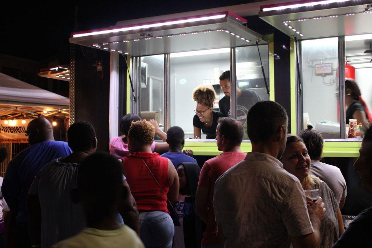 Le public a plébiscité la viande bovine de Saint-Martin.