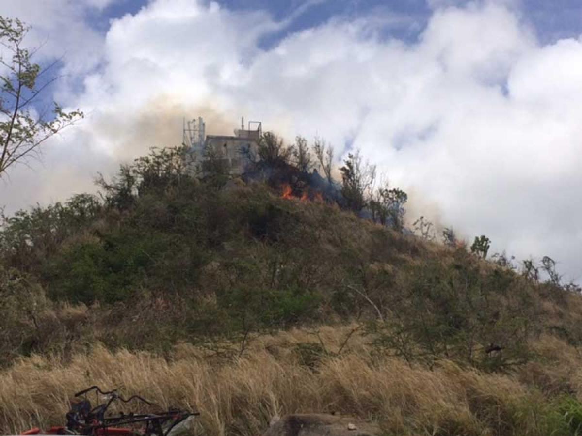 Important incendie à Middle Region