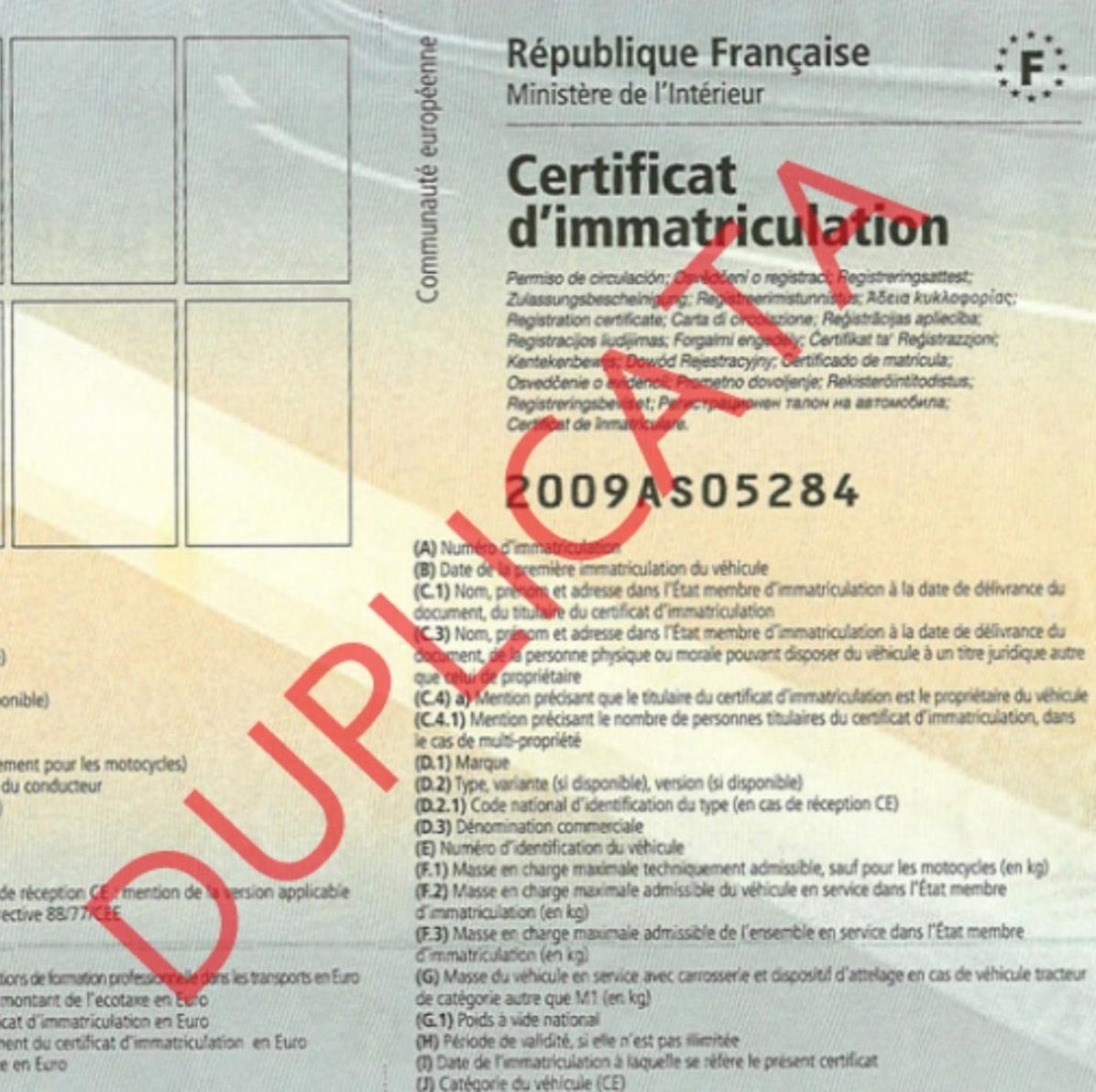 Archivage définitif des permis de conduire et des cartes grises non récupérés