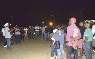 A l'appel du collectif Souliga United, des réunions étaient organisées dans les quartiers. x dernier,  à Grand Case le collectif rassemblait une quarantaine de personnes. Quelque 150 personnes s'étaient  déplacées, la veille à Sandy Ground.