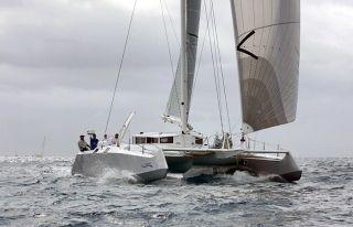 Le catamaran Fujin participe  à cette première édition