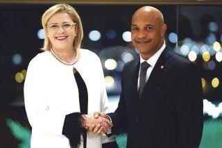 Les Présidents des Régions Ultrapériphériques à Saint-Martin