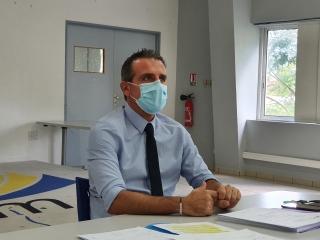 Julien Bataille, directeur de la CCISM, en charge de l'organisation  des prochaines élections consulaires.