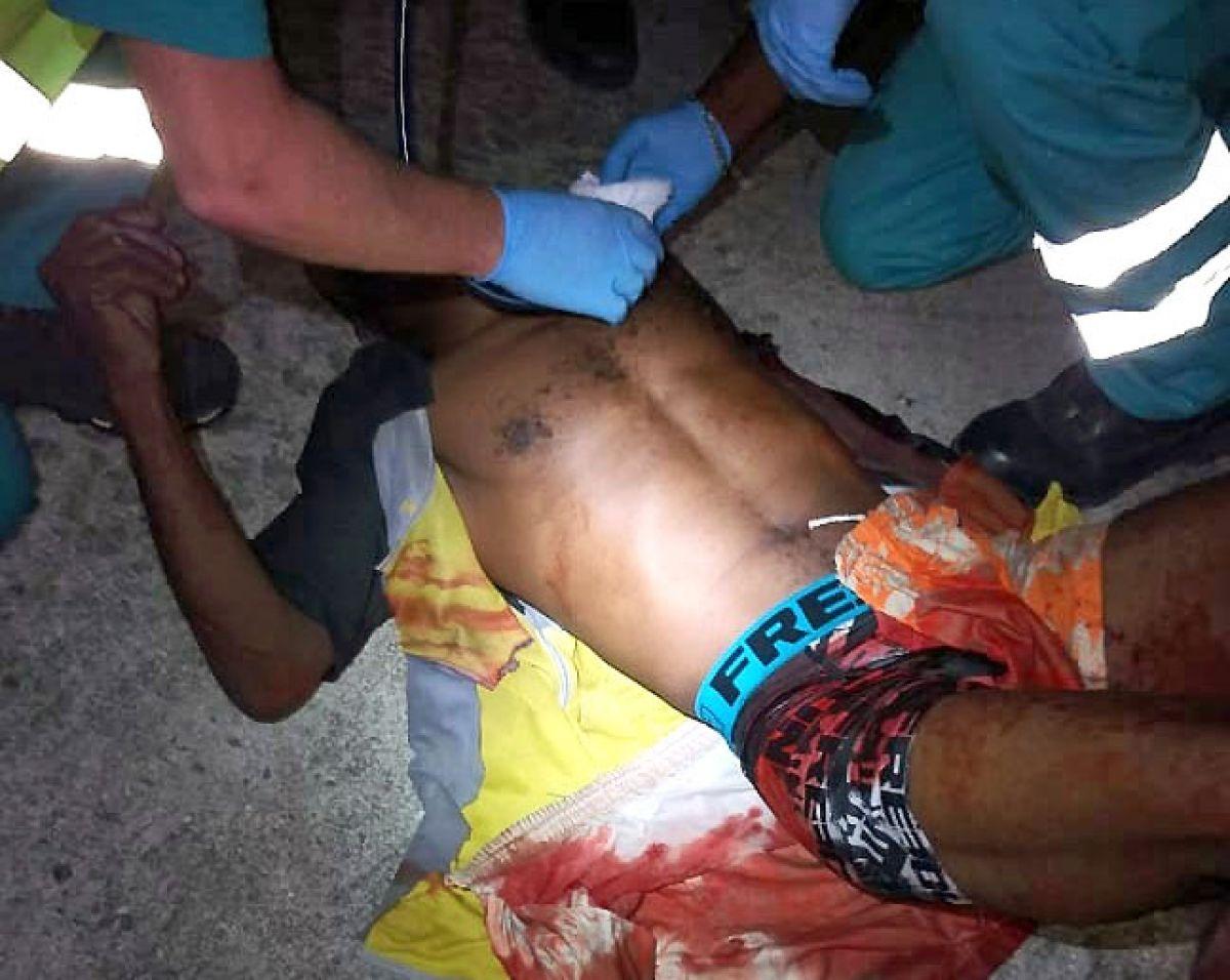 Un homme blessé de plusieurs coups  de feu