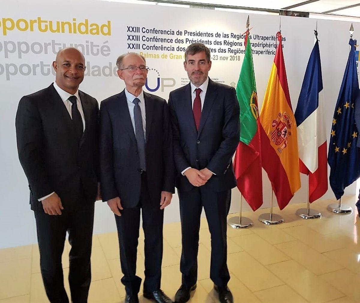 Passation de la présidence entre les îles Canaries  et Saint-Martin