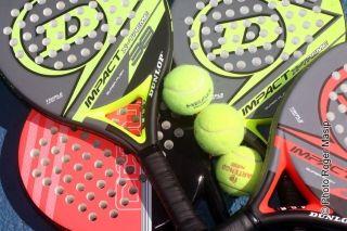 Fin du tournoi de padel et de tennis ce samedi matin