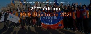 Octobre rose : 2e édition de «plus vite contre le cancer»
