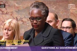 Assemblée : La députée Guion-Firmin adresse une question au premier ministre, qui botte en touche