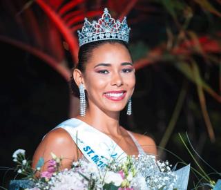 La pétillante Naïma Dessout élue  Miss Saint-Martin / Saint Barthélemy